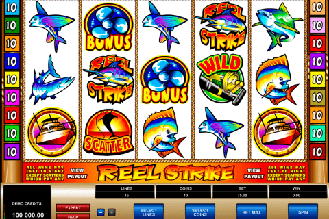 reel strike microgaming pacanele