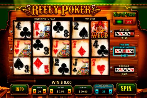 reely poker leander pacanele