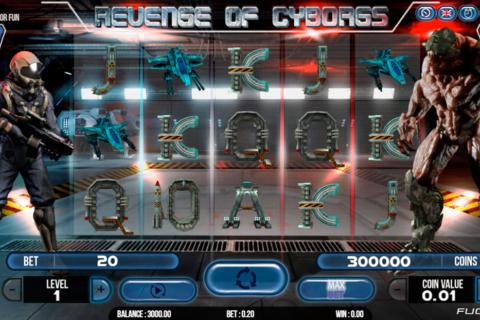 revenge of cyborg fugaso pacanele