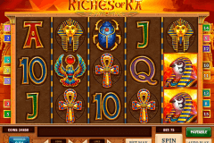 riches of ra playn go pacanele