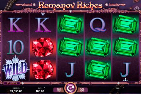 romanov riches microgaming pacanele