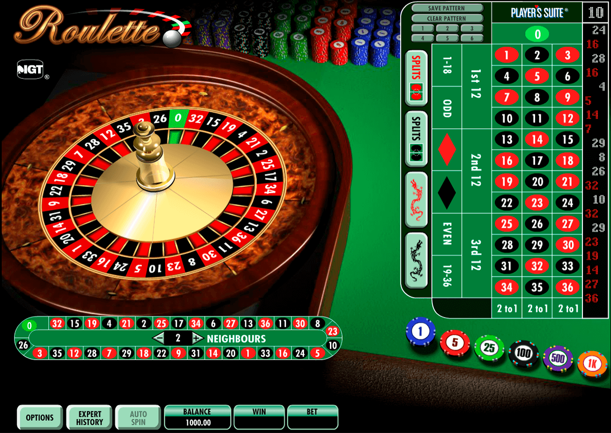 roulette igt ruleta