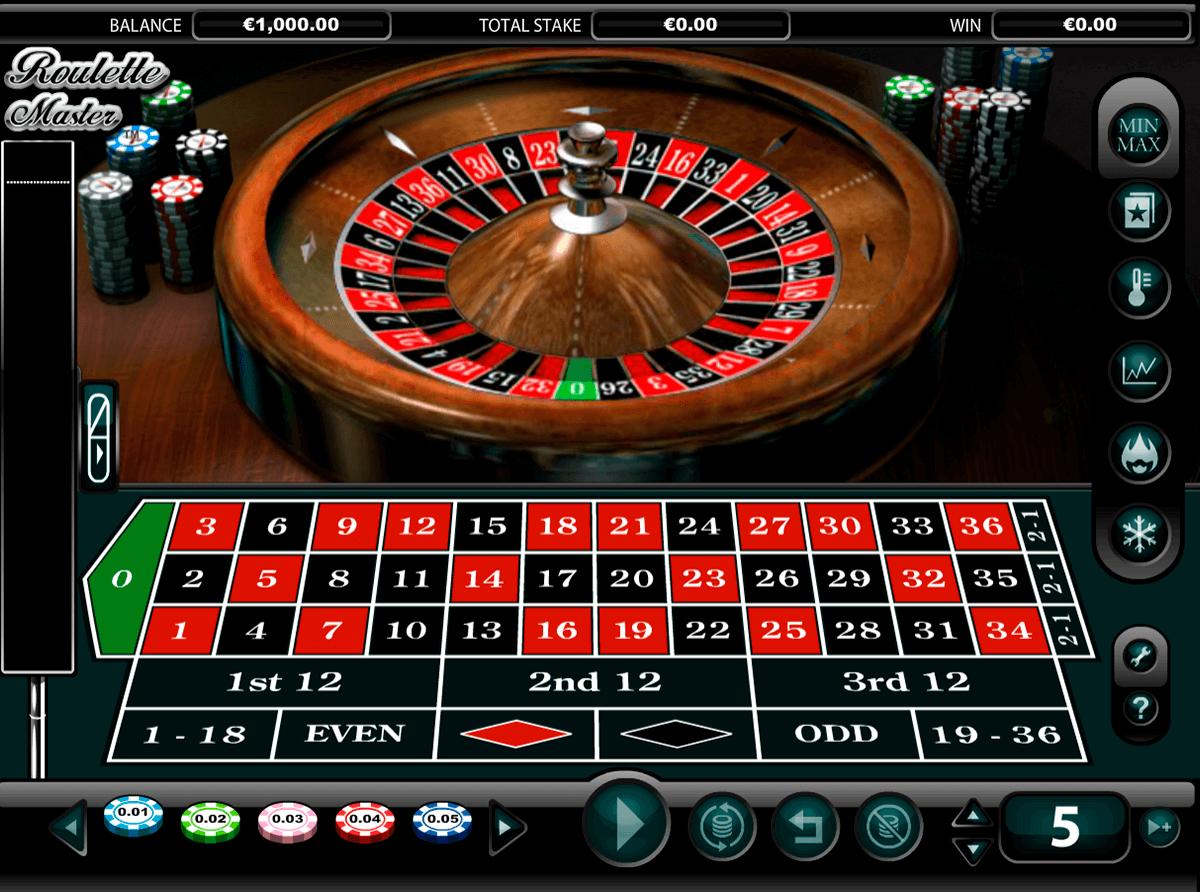 roulette master netgen gaming ruleta