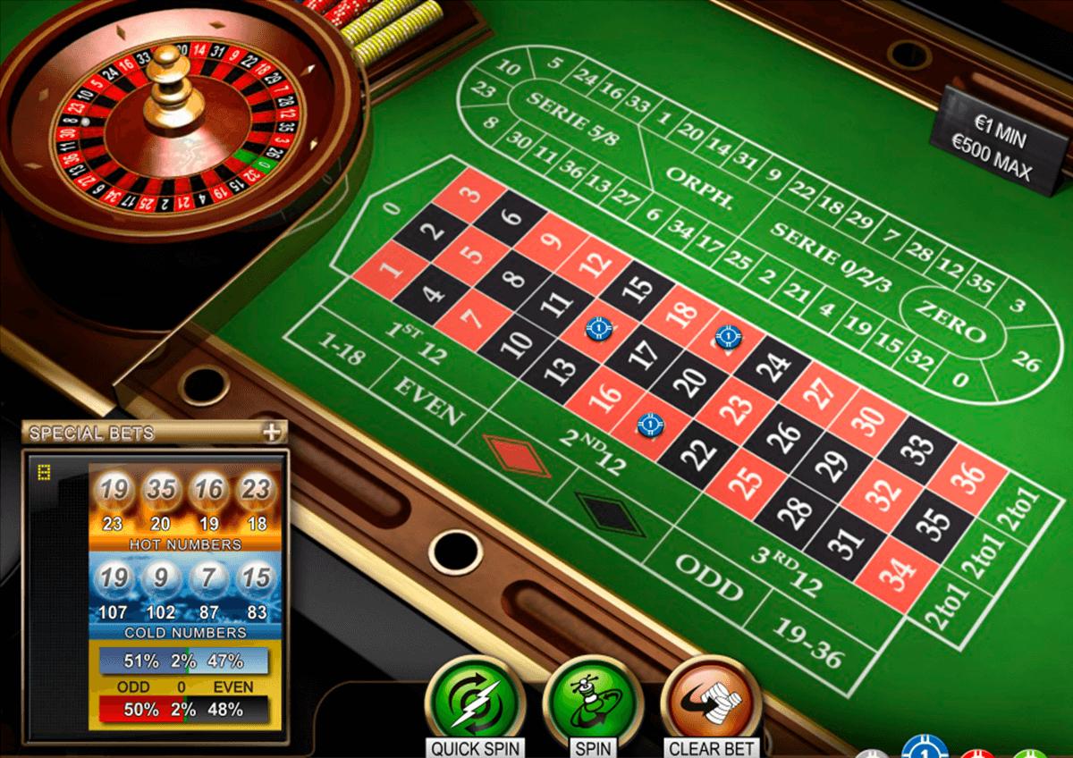 roulette pro netent ruleta