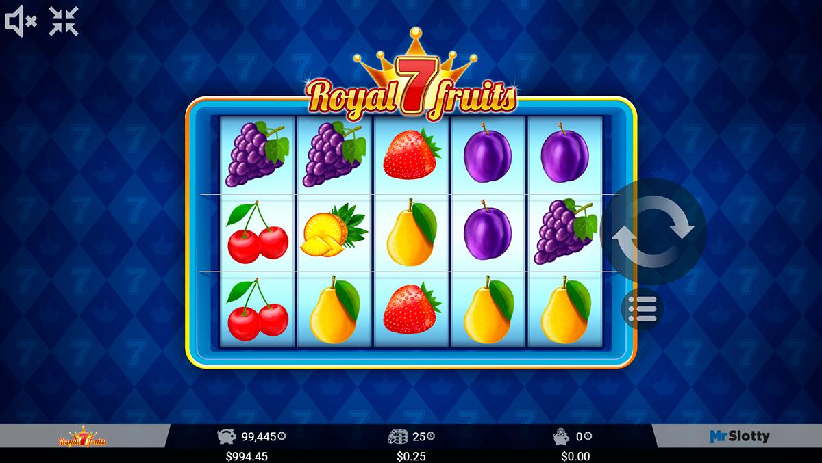 royal 7 fruits mrslotty pacanele