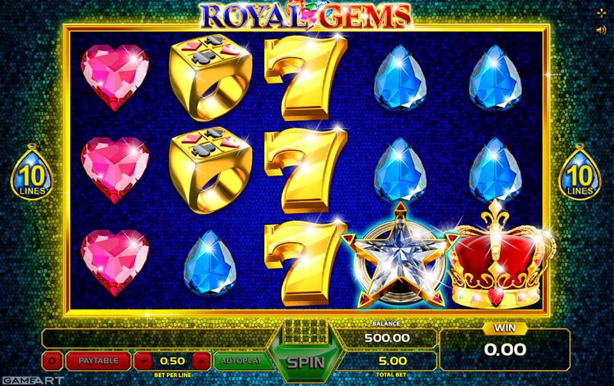 royal gems gameart pacanele