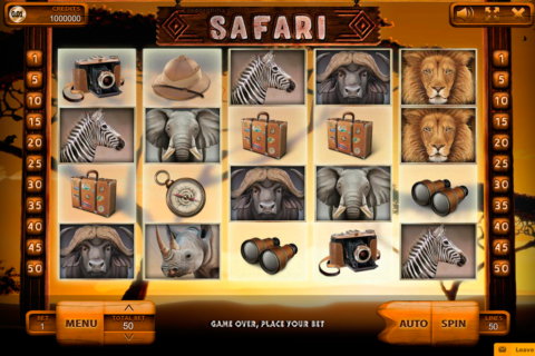 safari endorphina pacanele
