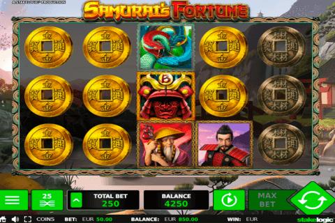 samurais fortune stake logic pacanele