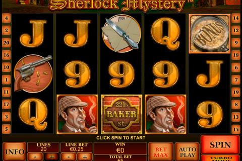 sherlock mystery playtech pacanele