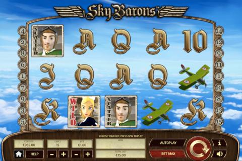 sky barons tom horn pacanele