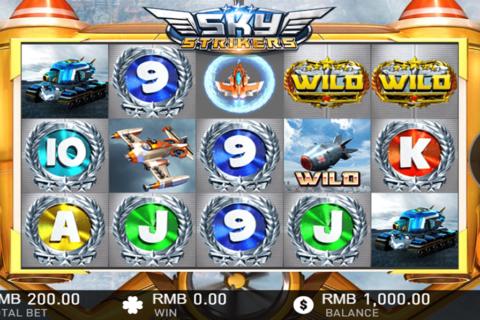 sky strikers gameplay interactive pacanele