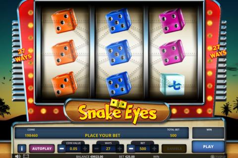 snake eyes zeus play pacanele