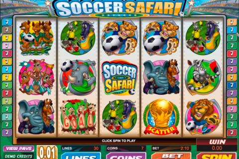 soccer safari microgaming pacanele