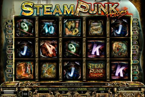 steam punk heroes microgaming pacanele