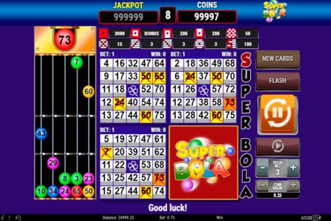super bola bingo playn go