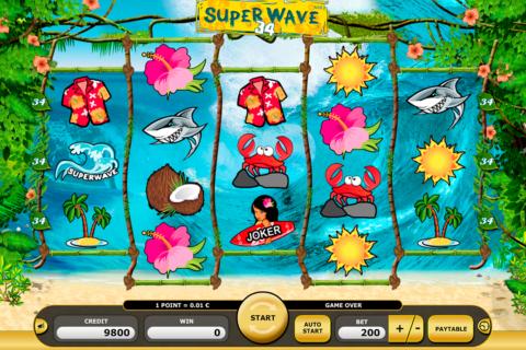 super wave  kajot pacanele