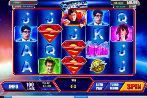 superman playtech pacanele
