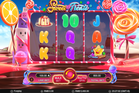 sweet treats gameplay interactive pacanele