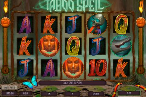 taboo spell genesis pacanele