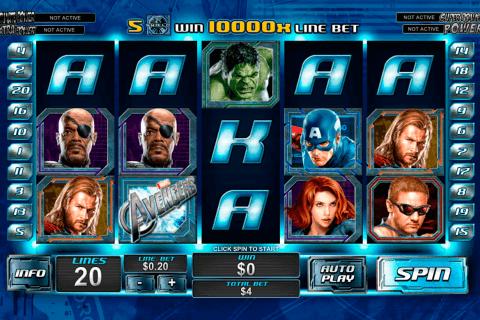 the avengers playtech pacanele