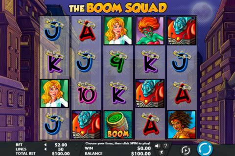 the boom squad genesis pacanele