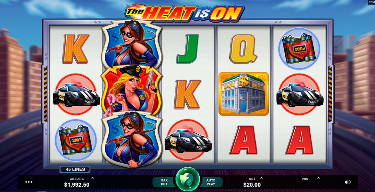 the heat is on microgaming pacanele