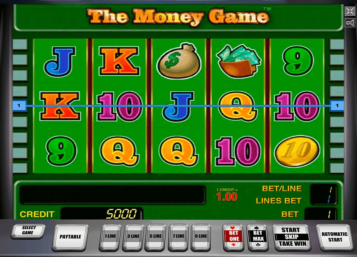 the money game novomatic pacanele