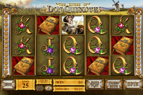 the riches of don quiote playtech pacanele