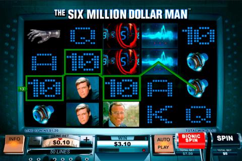 the si million dollar man playtech pacanele