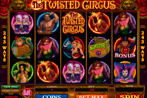 the twisted circus microgaming pacanele
