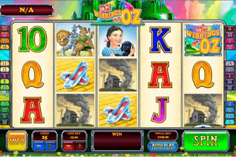 the winnings of oz playtech pacanele