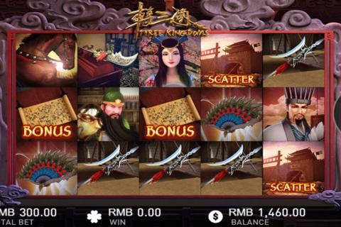 three kingdoms gameplay interactive pacanele