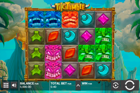 tiki tumble push gaming pacanele