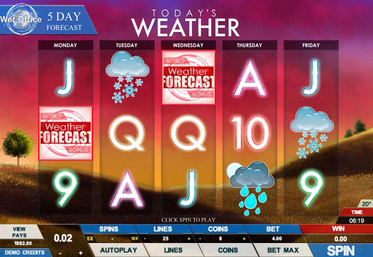todays weather genesis pacanele