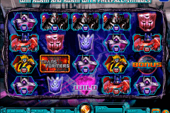 transformers battle for cybertron igt pacanele