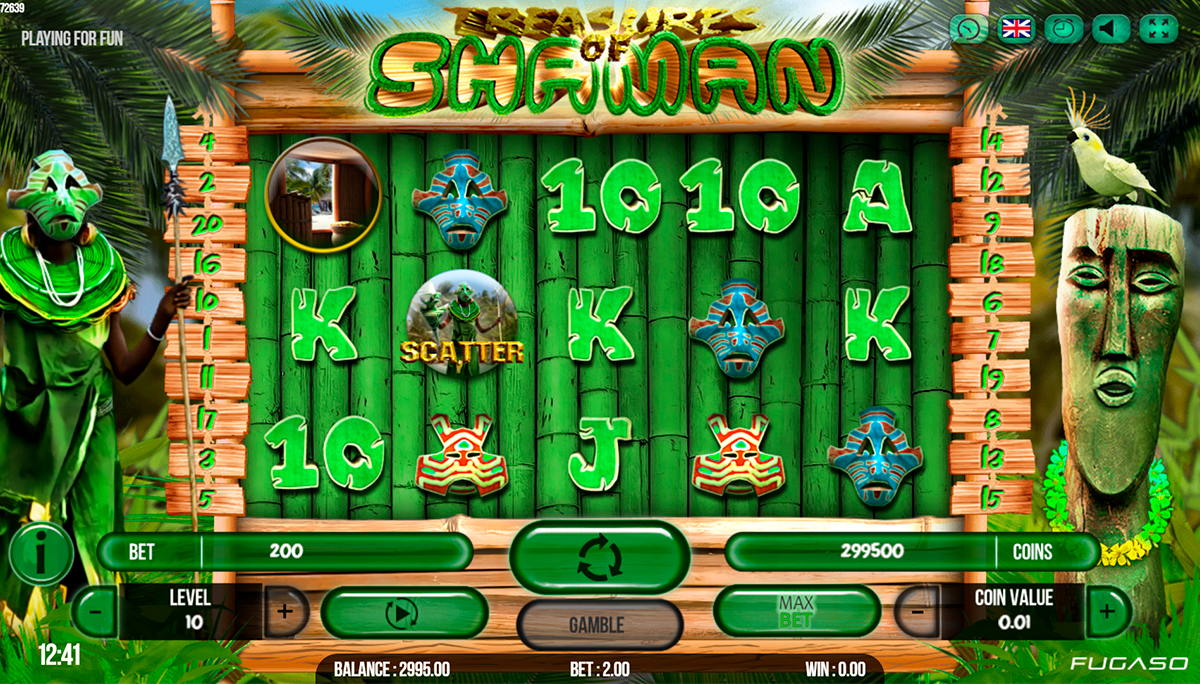 Spiele Treasure Of Shaman - Video Slots Online