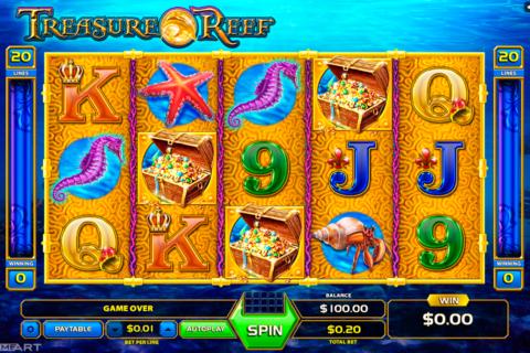 treasure reef gameart pacanele