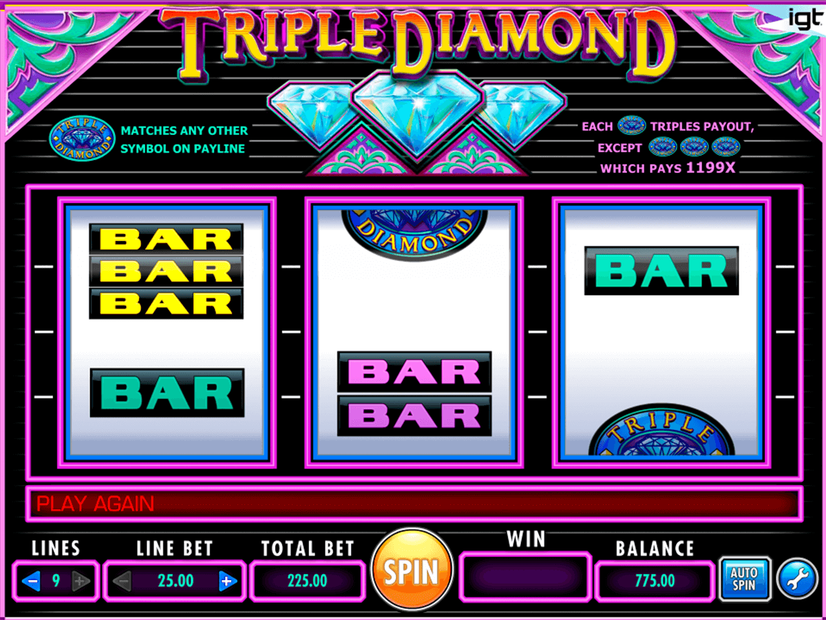 triple diamond igt pacanele