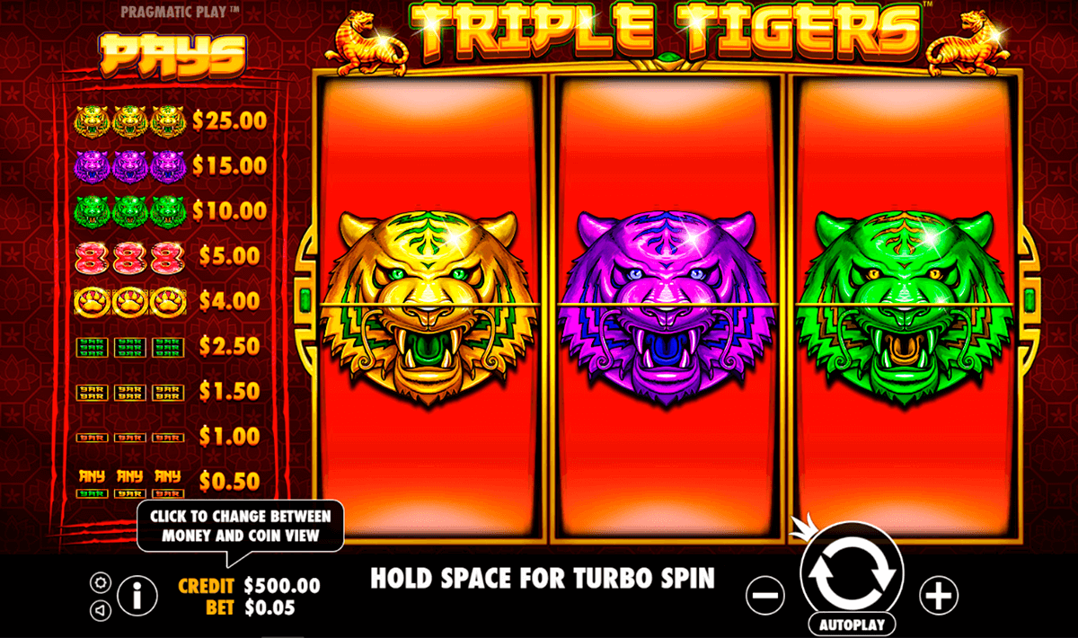 triple tigers pragmatic pacanele