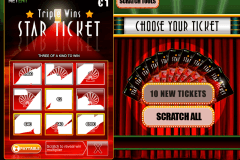 triple wins star ticket netent lozuri razuibile