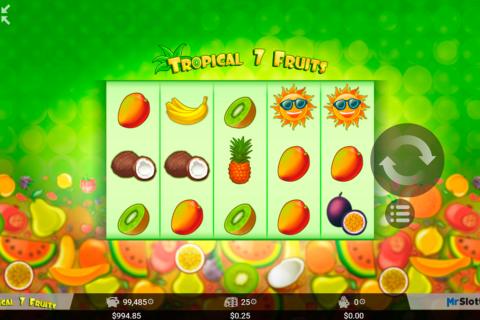 tropical  fruits mrslotty pacanele