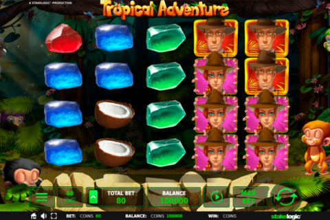 tropical adventure stake logic pacanele