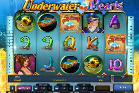 underwater pearls zeus play pacanele