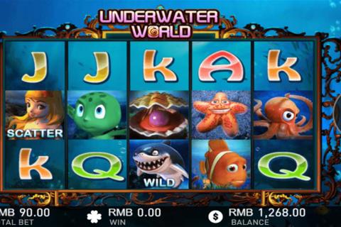 underwater world gameplay interactive pacanele