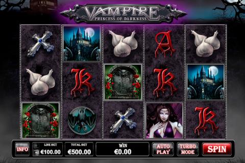 vampire princess of darkness playtech pacanele