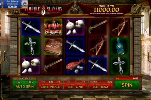 vampire slayers gamesos pacanele