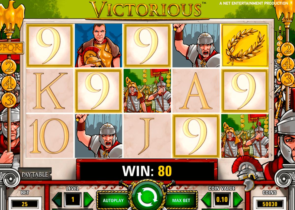 victorious netent pacanele