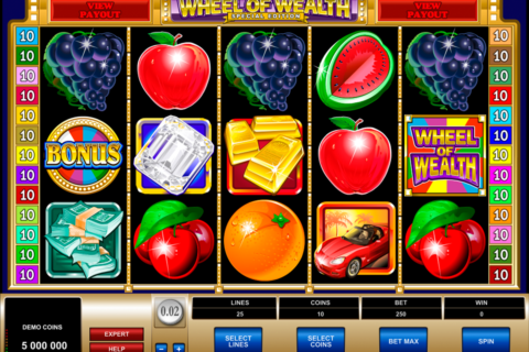 wheel of wealth special edition microgaming pacanele