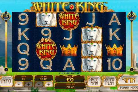 white king playtech pacanele