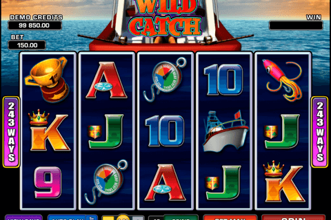 wild catch microgaming pacanele